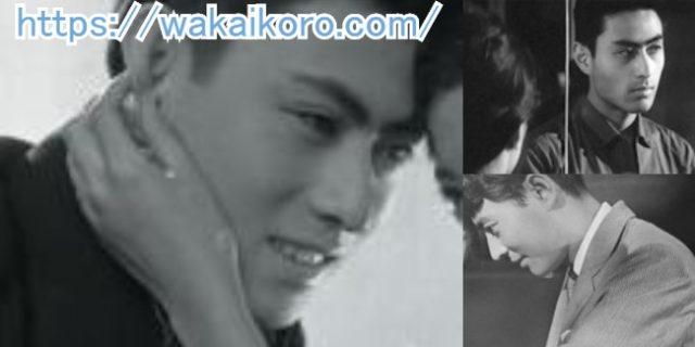 画像左は1957年(17歳)に放映された映画「青春の抗議」、右上は1960年(20歳)放映の「ろくでなし」、右下は1962年(22歳)放映の「酔っ払い天国」での 津川雅彦さん