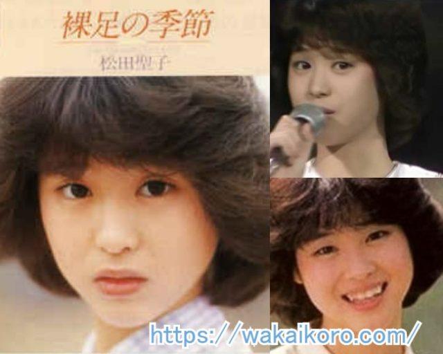 松田聖子 若い頃 デビュー当時 画像