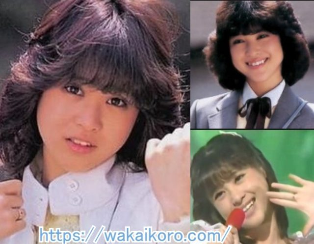 頃 松田 聖子 若い