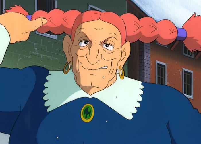 ラピュタのドーラ船長の若い頃は本当にシータに似ている?