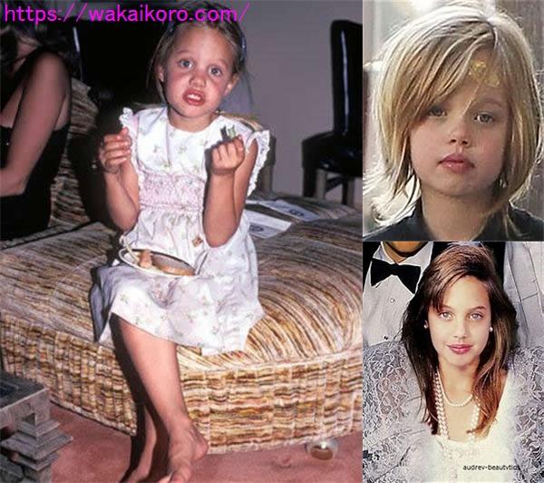 アンジェリーナジョリーの若い頃画像